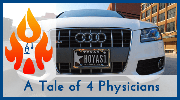 Tale of 4 physicians