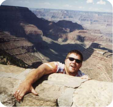Grand Canyon Hang On