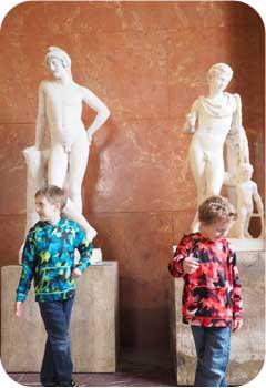 Louvre Statues