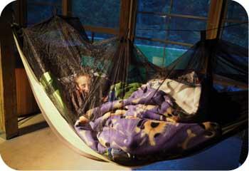 rest in a hammock