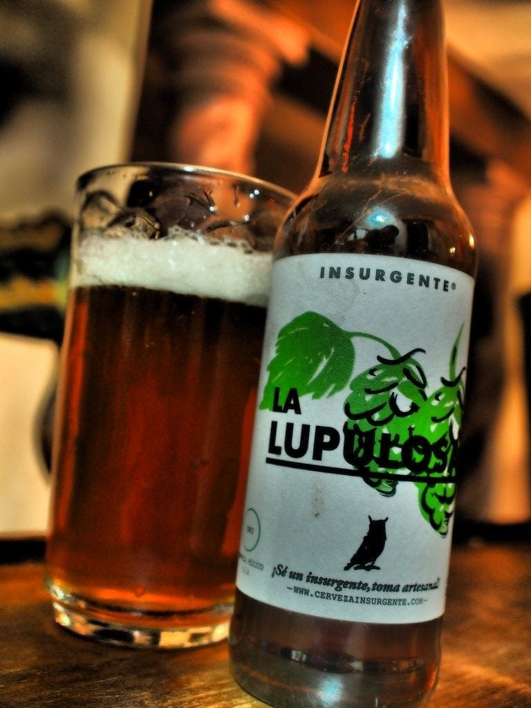 Insurgente La Lupolosa, the top rated Mexican IPA