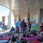 Camping out at Cerro del Cubilete