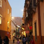 Guanajuato in the evening