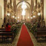 wedding in San Miguel de Allenda church