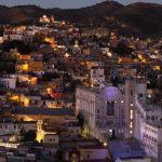 University of Guanajuato in the evening