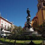 Plaza de la Paz statue, Guanajuato