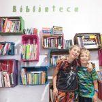 Biblioteca (library) at Escuela Falcon