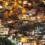 Guanajuato neighborhood at night