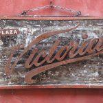 Antique Victoria Beer Sign