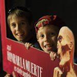Boys in the Guanajuato Mummy Museum