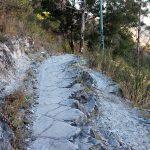 a sawtooth hiking trail La Bufa