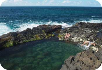queens bath kauai