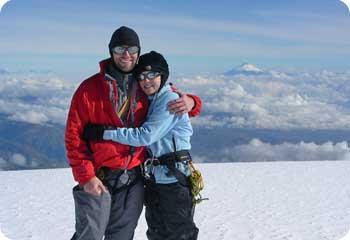 Chimborazo Ecuador peak