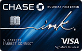 Chase Ink Business Preferred 170
