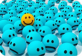Happy Among Sad