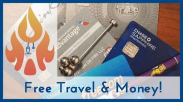 Credit Cards for Free Travel & Cash Back