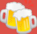 clinking beer mugs 1f37b