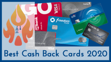 The Best Cash Back Credit Cards in 2020