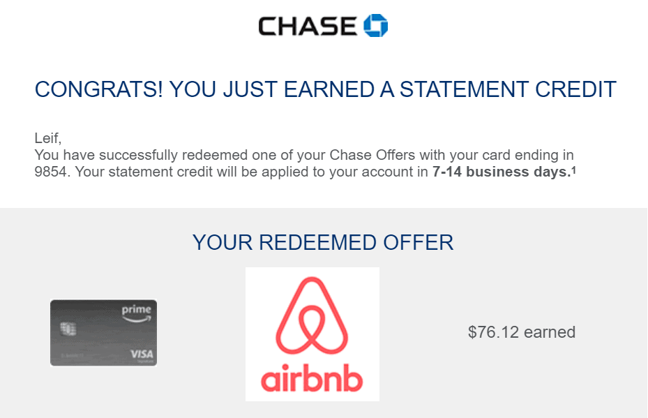 Chase Offers