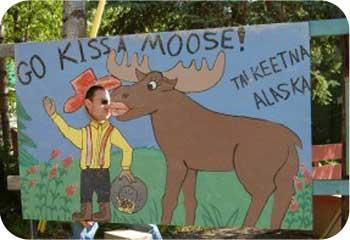 Kiss a Moose Talkeetna