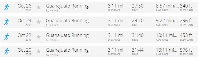 Guanajuato running