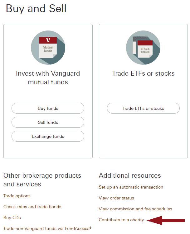 Vanguard Charitable 1