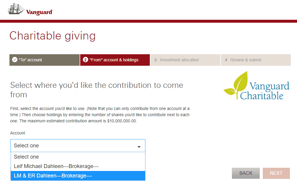 Vanguard Charitable 4