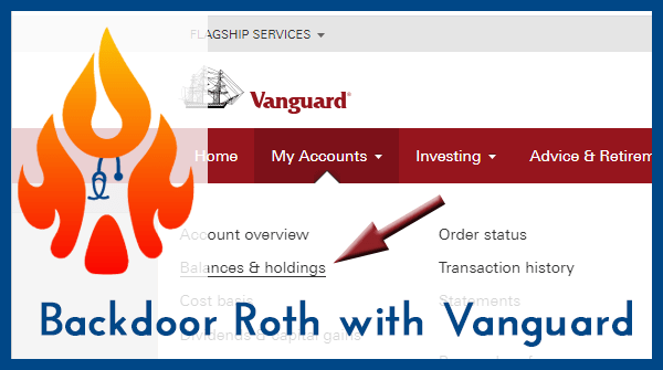 Backdoor Roth IRA Vanguard