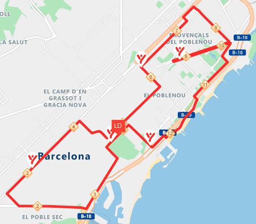 BCN Half Route