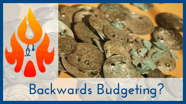 Backwards Budgeting