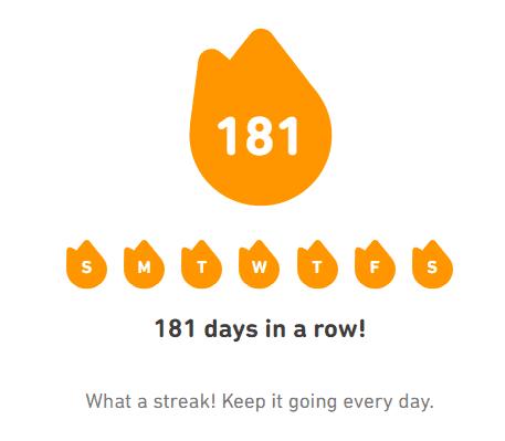 Duolingo Streak