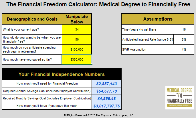 Financial_Freedom_Calculator
