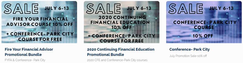 WCI Course Discount