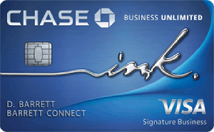 Chase Ink Business Unlimited 2020 300