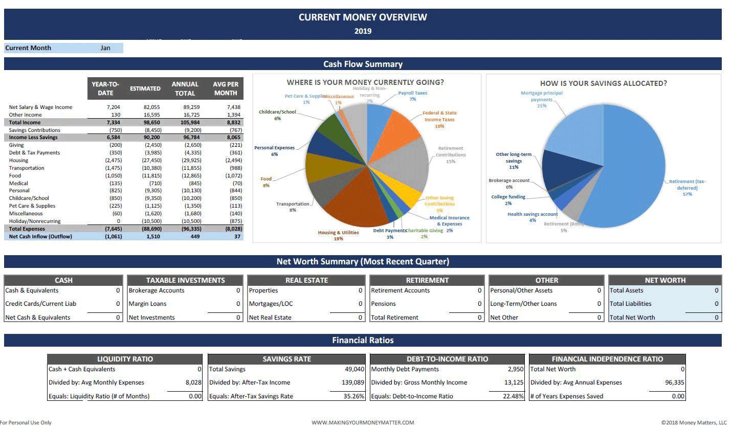 Personal-Finance-Spreadsheet