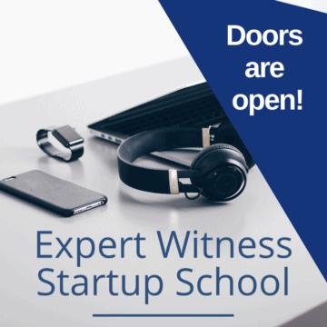 expert witness startup school