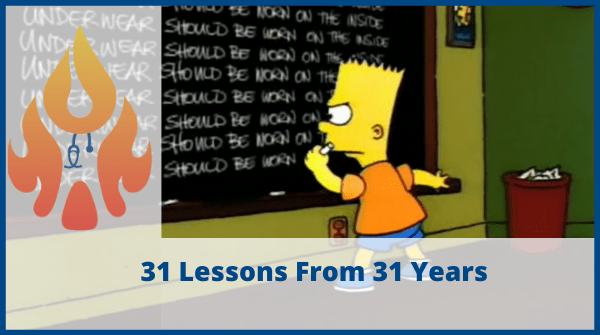31 lessons