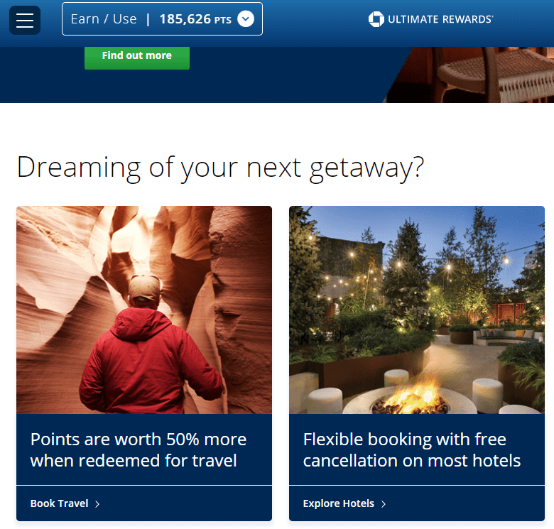 Chase-Travel-Portal