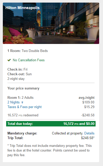 Chase-Hotel-Booked