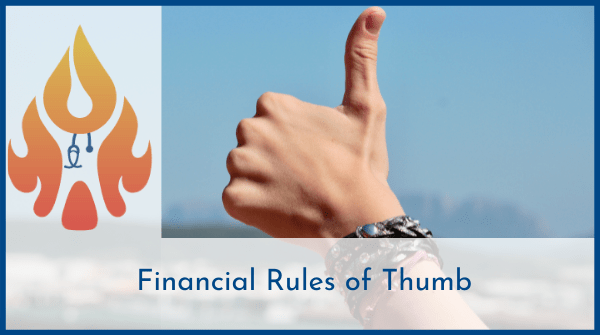 financial rules of thumb