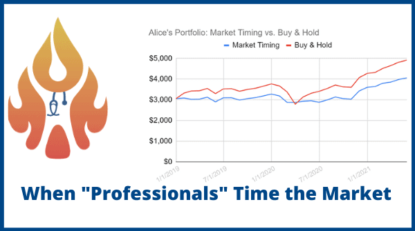 professionals time the market